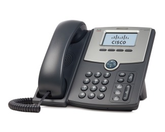 Cisco SPA502G IP Phone.